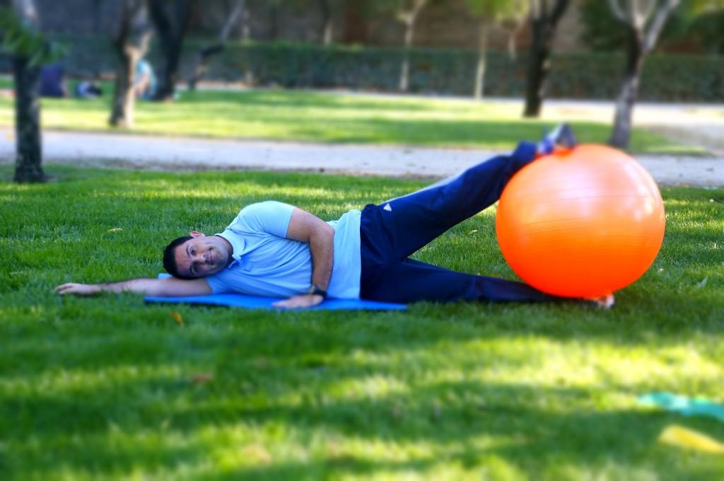 Jaime B Entrenador personal Pilates