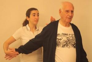 entrenamiento en personas mayores brazo