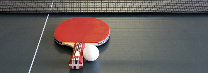 material para el tenis de mesa