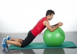 ejercicios abdominales para hacer en casa fitball abdominal