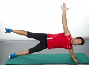 ejercicios abdominales para hacer en casa puente lateral