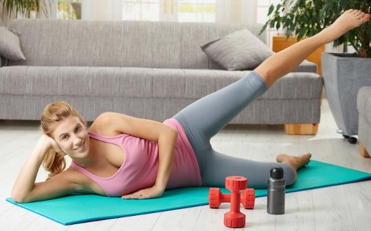 Ejercicios para hacer en casa - Como hacer gimnasia en casa ...