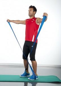 tonificar la espalda elevaciones laterales trapecio cuello