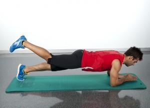 tonificar la espalda ejercicio puente prono abdominales