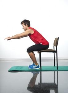 tonificar la espalda ejercicios sentadillas