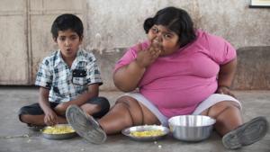 obesidad infantil niña