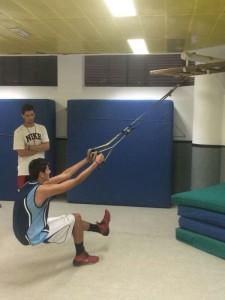 baloncesto con entrenador personal preparacion fisica
