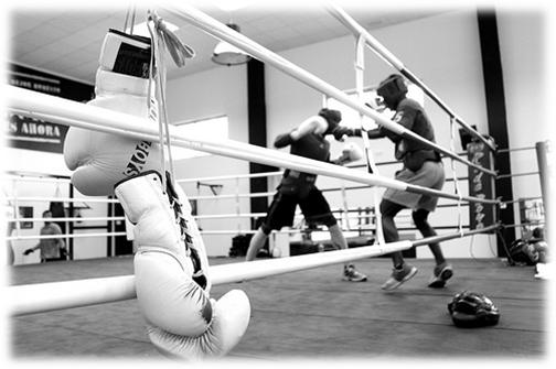 Fernando gomez entrenador de boxeo