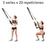 ejercicio trx piernas