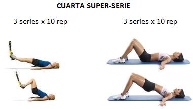 ejercicio trx plancha