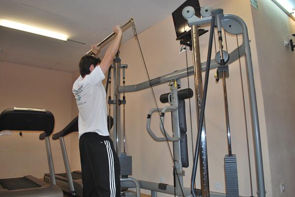 rutinas de gimnasio sentadilla ejercicio