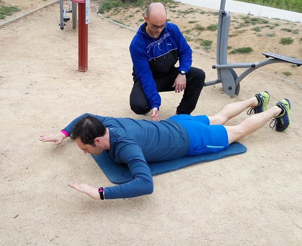 ejercicios abdominales lumbares