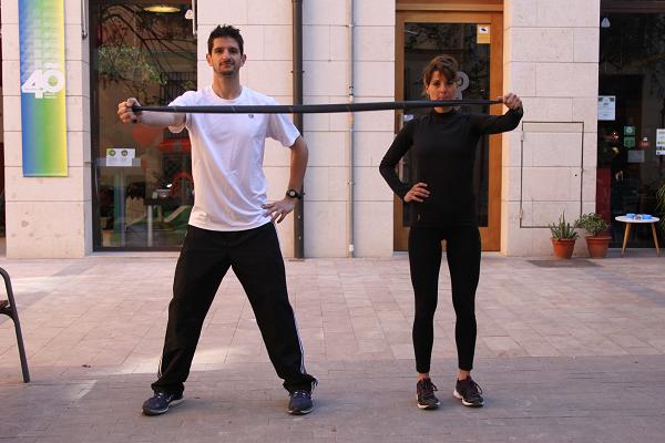 ejercicios con bandas elasticas 5