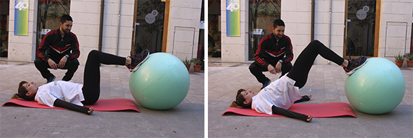 ejercicios gap extension cadera