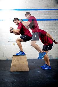 ejercicios de crossfit boxjumps