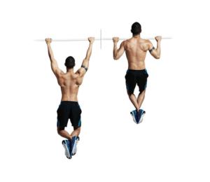 ejercicios de crossfit pullups