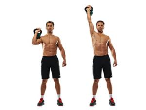 ejercicios de crossfit pushpress