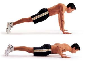 ejercicios de crossfit pushups