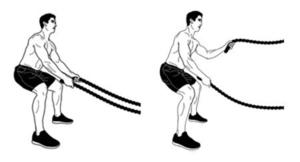 ejercicios de crossfit ropes