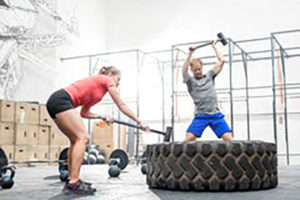 ejercicios de crossfit tire