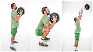 ejercicios de crossfit wallball