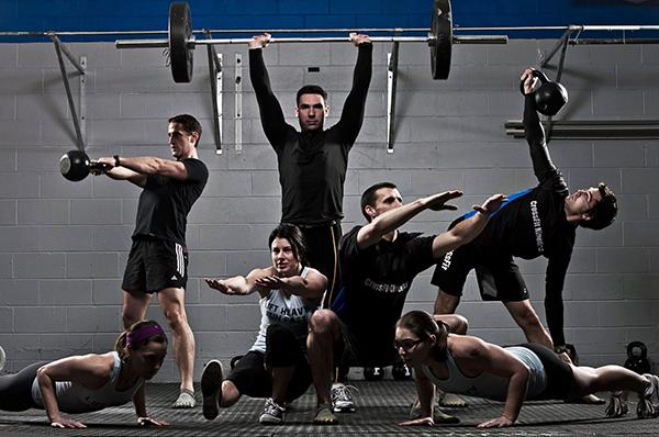 entrenamiento crossfit fitness