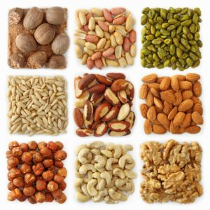 frutos secos varios grasa