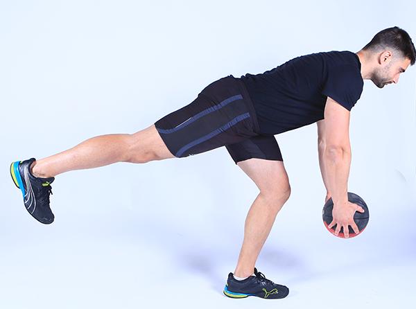 ejercicios para piernas y gluteos peso muerto bulgaro