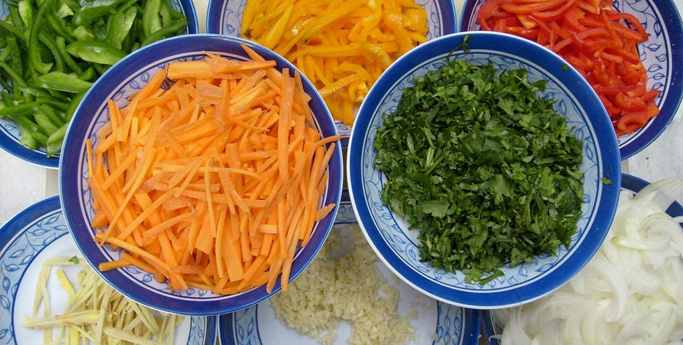 Como preparar comida vegetariana para adelgazar