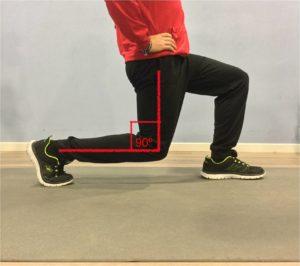 tonificar piernas zancada normal