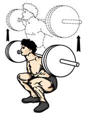 ejercicios para piernas y gluteos sentadilla