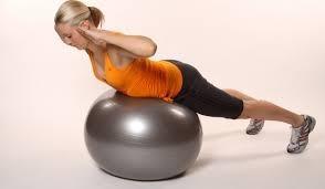 ejercicios para fortalecer lumbares fitball dos