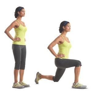 ejercicios para tonificar piernas desplante