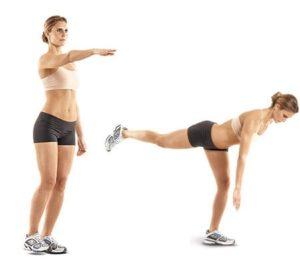 ejercicios para tonificar piernas peso muerto