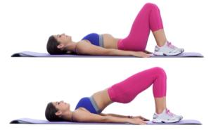 ejercicios para tonificar piernas puente
