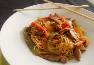 tres recetas expres wok
