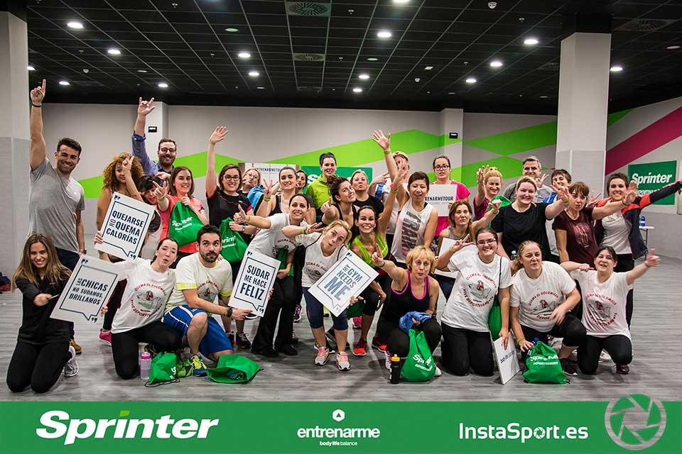 Sesiones deportivas con sprinter entrenarme for Gimnasio dreamfit