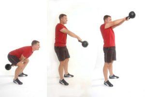 ejercicios de gluteos para hombres kettlebells