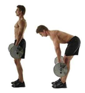 ejercicios de gluteos para hombres peso muerto