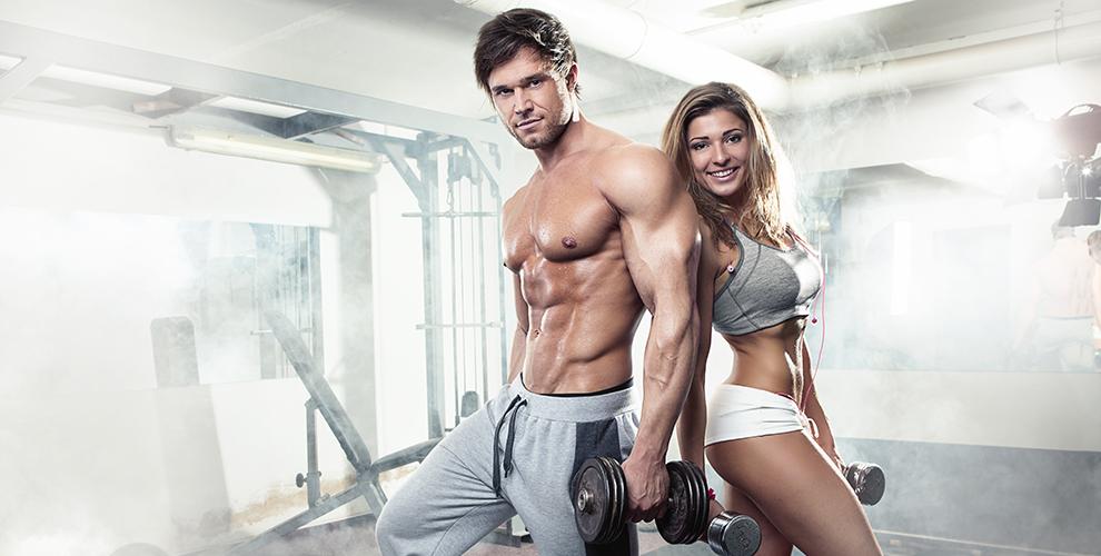 musculacion pareja