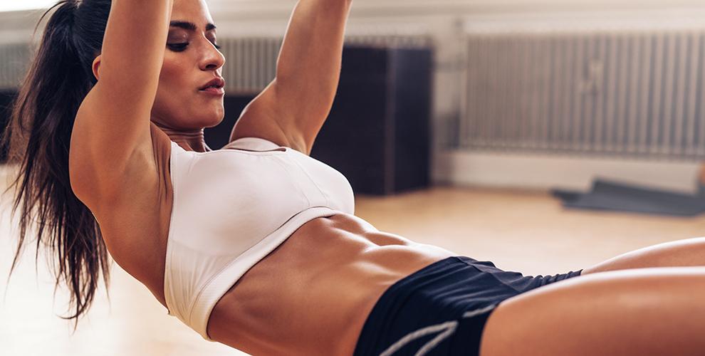 ejercicios con aparatos para bajar la panza