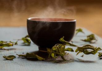 Cup of slimming tea