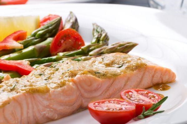 cena ligero salmon