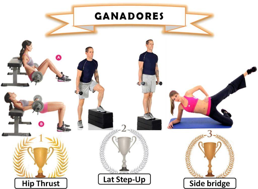 fortalecer gluteos ejercicios
