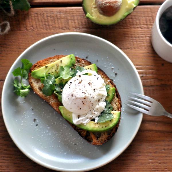desayunos sanos tostada