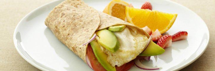desayunos sanos wrap