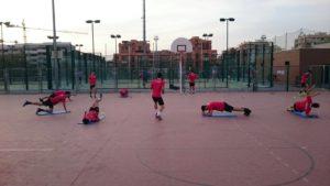 entrenamiento para futbolistas chicos
