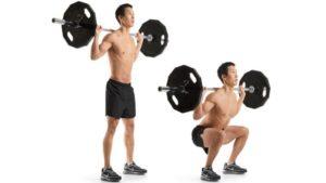 ganar masa muscular sentadilla