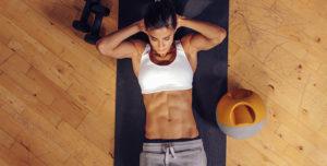 ejercicios tipicos abdomen