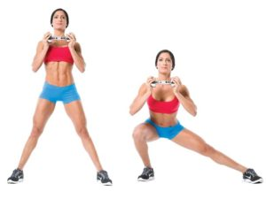 lunges lateral
